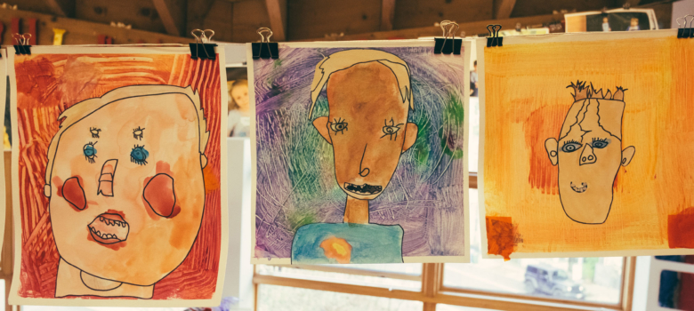 Self Portraits in the Early Elementary